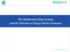 The Registration Data System, and the Selection of Target Market Entrance